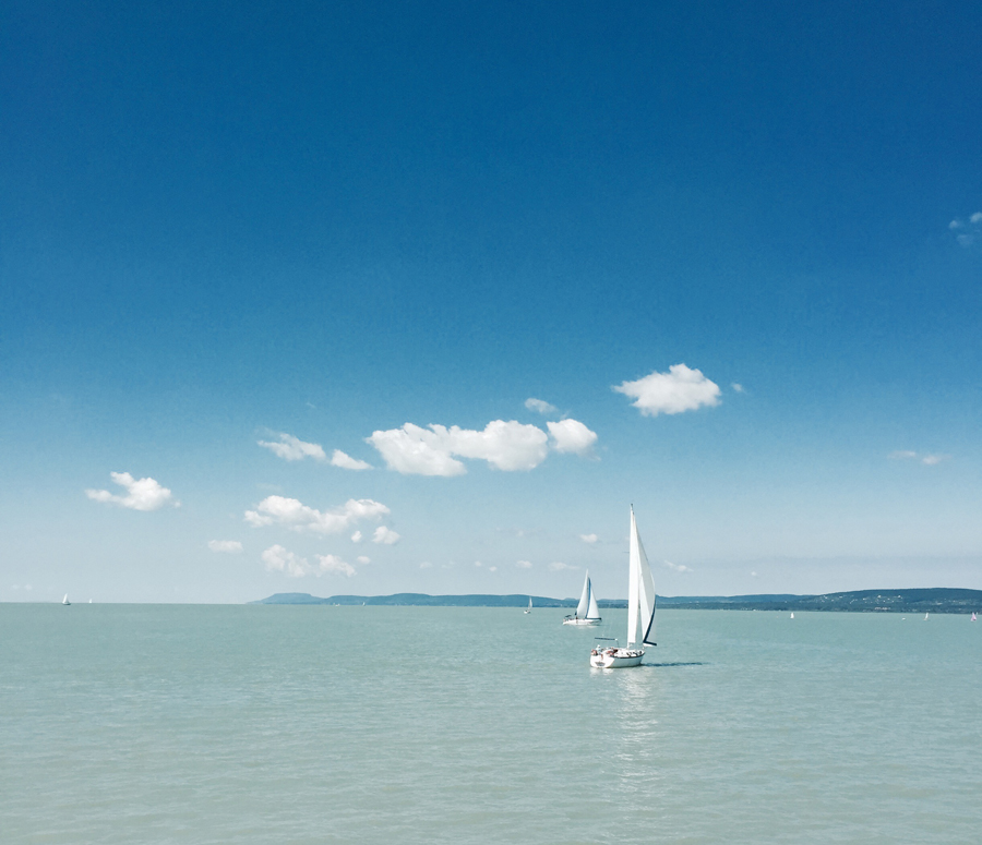 A fave spot at beautiful Lake Balaton: the Tihany peninsula