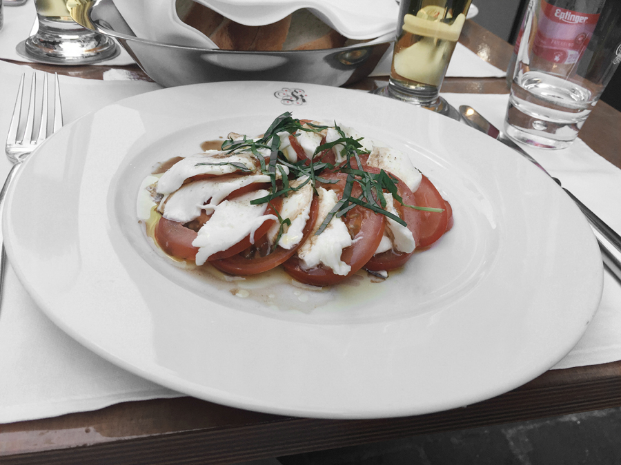 mozzarella salad basel switzerland