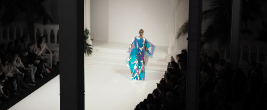 Je Suis Belle runway show ss18 catwalk fashion week central europe