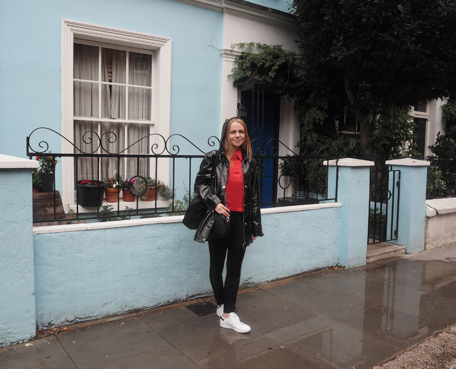 comfy Friday outfit London Notting Hill
